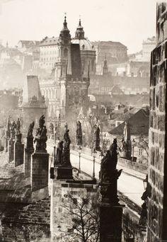 Zdenko Feyfar. Prague, Charles Bridge