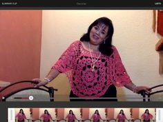 Capita Coral 4 ruedas - Tejiendo con Laura Cepeda - YouTube