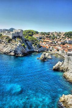 Croatia, Dubrovnik, the Beautiful Mediterranean Landscape