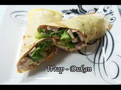 Dieta Dukan: Receita Wrap