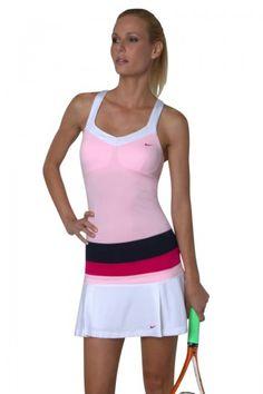 Nike Women's Tennis- Pleated Knit Skort- Court & Kelly Tennis for Women