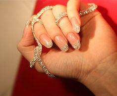 Cherish ... Me Iced Manicure: $51,000