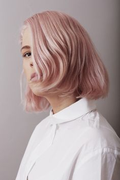 Blonde Peach Hair Color Trend for 2015.