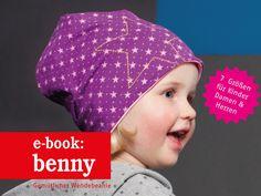 Nähanleitungen Kind - E-BOOK ★ Benny - Wendebeanie für Groß & Klein - ein Designerstück von fritzi-selbermacher bei DaWanda