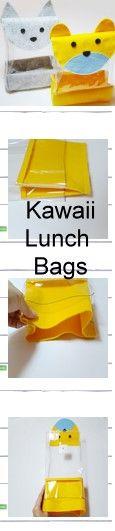 Sew your Own Reusable Kawaii Lunch Bag