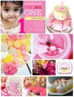 First Birthday Party Inspiration Board