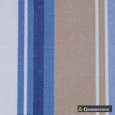 Gummerson - French-Stripe Boat Uncoated 150cm   Ideal Drape Makers