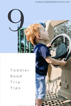 Road trips with toddlers can be challenging. Follow these tips to make your road trip with a young child as stress-free as possible. #roadtripswithtoddlers #roadtripswithkids #roadtripswithababy