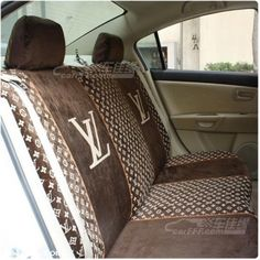 buy wholesale luxury chanel universal automobile leather car seat cover 18pcs sets black from. Black Bedroom Furniture Sets. Home Design Ideas