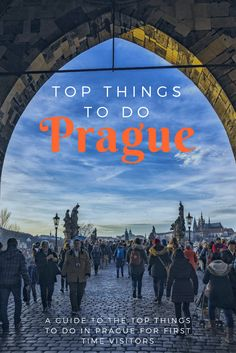 Top Things to do in Prague as a First Time Visitor: The very best and most beautiful things to do and see in Prague Czech Republic! Click here to make sure you see it all!