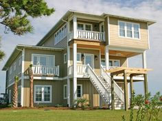 Boat House. Soundfront beach rental. 5 Bedrooms, 6.5 Baths. Soundfront swimming pool with waterfall, hot tub, trellis and gazebo. 202 Emerald Drive Emerald Isle, NC.