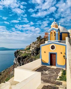 Check My Account, Santorini Greece, Greek, Island, Mansions, House Styles, Destinations, Instagram, Manor Houses