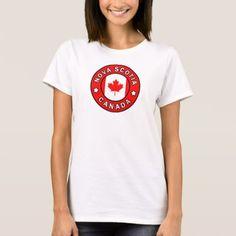 Nova Scotia Canada T-Shirt - love gifts cyo personalize diy