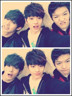 hyunsik, sungjae and changsub