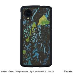 Hawaii Islands Google Nexus 5 Slim Maple Wood Case Carved® Maple Nexus 5 Case