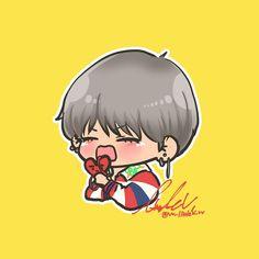 Taehyung Fanart, Bts Taehyung, V Chibi, Bts Drawings, I Wallpaper, Cute Cartoon, Kawaii, Fan Art, Kpop