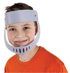 Helmets of Salvation (215-713) from Guildcraft Arts & Crafts! Kids will keep their minds and eyes focused on God when they wear the Helmet of Salvation. An essential part of God's armor, it guarantees that nothing can separate them from the love of Christ! Includes preprinted and precolored cardboard helmet pieces and fasteners. Adjustable once assembled.