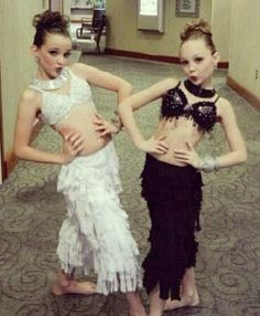 Kendall and Maddie maybe a duet or group dance???????