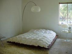 Bedroom. #bedroom #minimalist #white