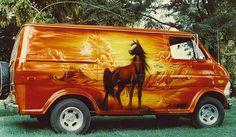 70s custom vans | Old 70's style custom vans....eh, anything van related.....