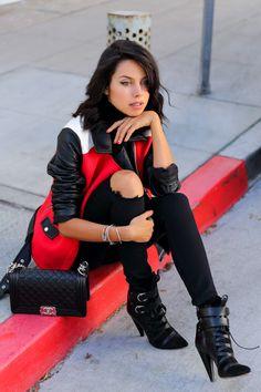 VivaLuxury - Fashion Blog by Annabelle Fleur: MOTO COLORBLOCK