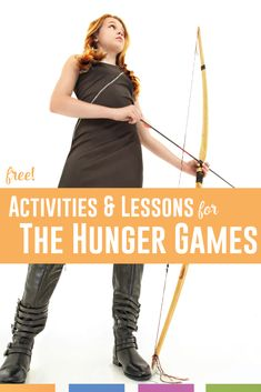 The Hunger Games lesson plans ideas: use these videos, informational texts, and resources for your novel unit. Hunger Games Activities, End Of Year Activities, Writing Lessons, Writing Prompts, Teaching Resources, Teaching Ideas, Hunger Games Novel, Middle School, High School