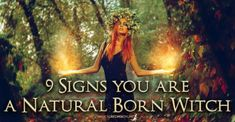 9 Signs you are a Natural Witch