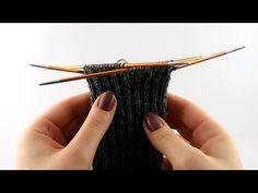 How to Knit Socks for Men #2 Leg