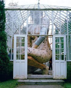 "22k Likes, 113 Comments - designboom magazine (@designboom) on Instagram: ""an enormous female figure lives inside this #greenhouse in copenhagen. artist susanne ussing…"""