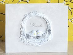 Lovebirds Collection Guest book