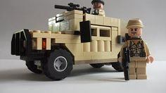 (23) lego car swat or soldier easy - YouTube