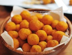 Thai Fried Pumpkin Balls