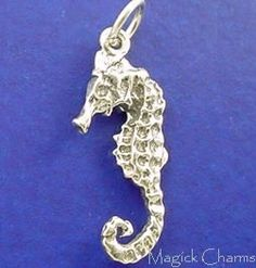 Magick Charms Sterling Silver Charm Supply Shop by MagickCharms James Avery, Silver Charms, Magick, Garnet, Opal, Sapphire, Charmed, Seahorses, Gemstones