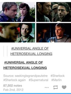 It's so funny that it's Sherlock and Watson two times