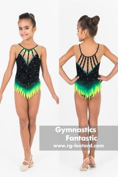 An expressive, passionate leotard for rhythmic gymnastics, which will convey the emotionality and energy of the performance. Lace fabric, bright colored elements, graceful black stripes adorn the suit. Price from 129$ Rhythmic Gymnastics Leotards, Lace Fabric, Black Stripes, Competition, Bright, Suits, Stuff To Buy, Shopping, Color