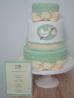 28 Ideas baby shower cake for boys without fondant gender neutral Fancy Cakes, Cute Cakes, Gateau Baby Shower Garcon, Fondant Cakes, Cupcake Cakes, Sweets Cake, Beautiful Cakes, Amazing Cakes, Idee Baby Shower