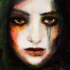 "Saatchi Online Artist: Suhair Sibai; Paint, 2012, Mixed Media ""Mother!"""