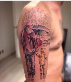 Amor de Pai #love #father #pai #son #filho #tattoo #lincoln