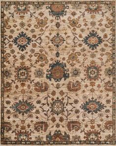 A stunning take on natural jute. Named after an ancient city on the old Silk Road, Bukhara showcases classic Persian motifs in a palette of opulent earth tones. Each one is hand-knotted by skilled artisans. Bukhara Rug - Item #6AE58