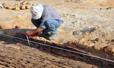 5,000-year-old wooden boat used by the pharaohs is discovered by French archaeologists