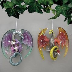 I found 'Celestial Dragon Ornament Set #2 [15-00768-002] - Dragon Moon Gifts Canada: Fantasy, Metaphysical Decor, Jewelry and statues. Fairy, Unicorn, Pegasus, Gargoyle' on Wish, check it out!