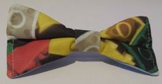 Hair bow made from LEGO® fabric £5.00