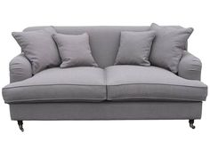Sofa Gin 2-osobowa w stylu angielskim - Sklep meblowy Onemarket - Meble do sypialni, pokojowe, młodzieżowe