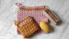 Multi functional kitchen cloths. You can use them as potholders or washing cloth.