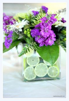 8 Citrus Centerpieces   Bright Bold and Beautiful