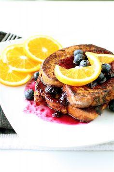 Orange Blueberry French Toast