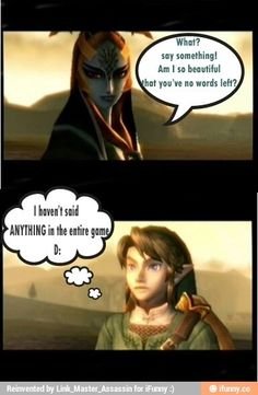 I know how you feel Link. I know how you feel