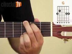 Aquarela - Toquinho (aula de violão simplificada)