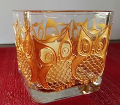 Candle Holder Hand Painted Golden Owl Candle by WhineAlittlegifts Diy Candle Diffuser, Fenton Glassware, Glass Painting Designs, Jar Lanterns, Lighted Wine Bottles, Painted Wine Glasses, Bottle Painting, Glass Candle Holders, Vases
