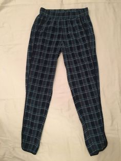 32bd6defde6 Womens Size Xs Marabelle Blue Plaid Pants  fashion  clothing  shoes   accessories